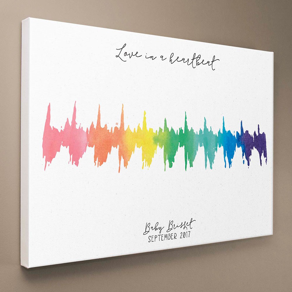 Custom Heartbeat Canvas